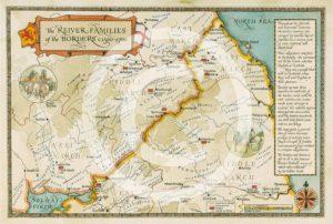Border Reiver map